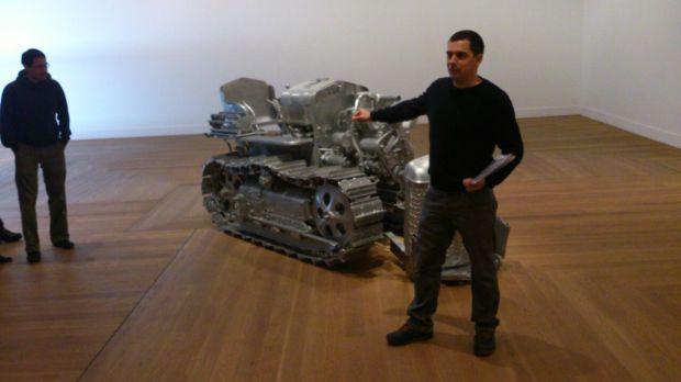 Visita Skulptur efter Skulptur en español 11-10-14