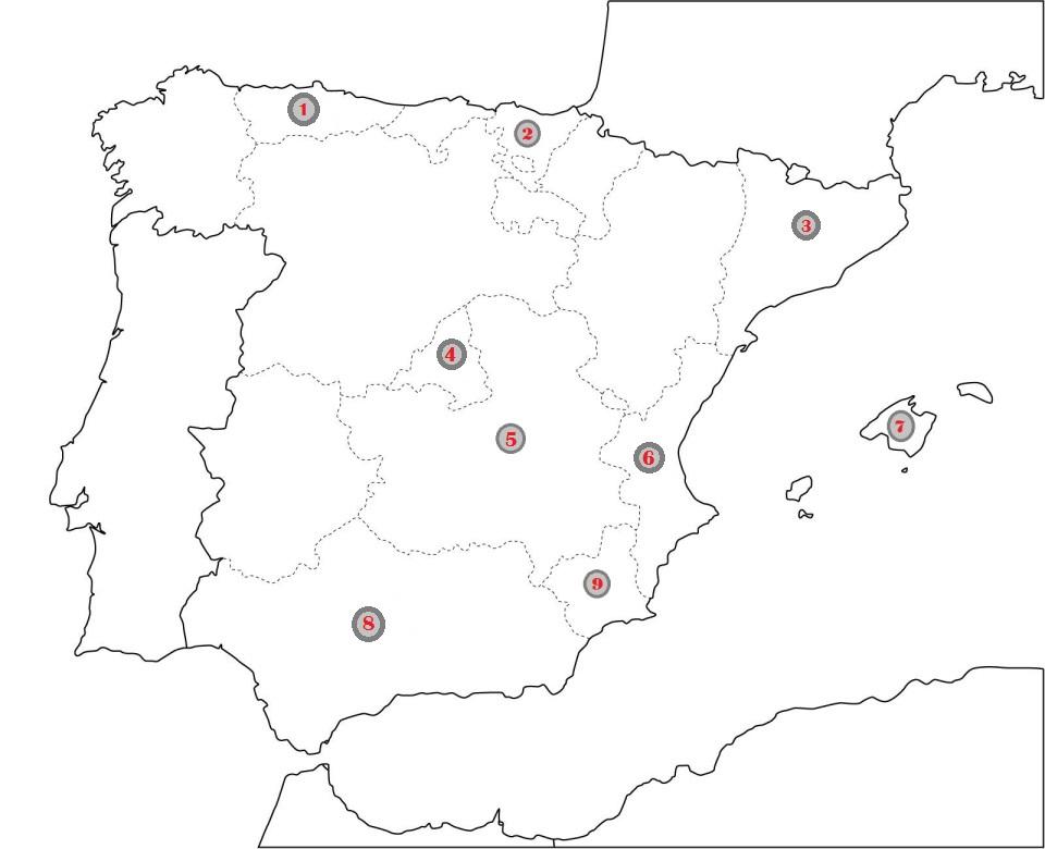 mapa residencias
